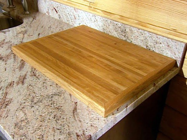 How To Make a Cutting Board out of Reclaimed Wood    working