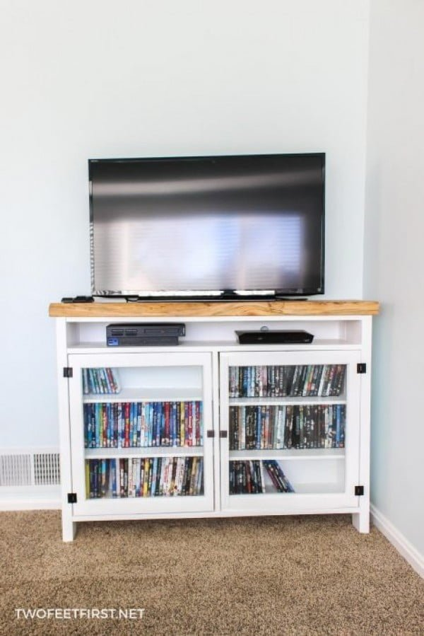 DIY TV Console    working