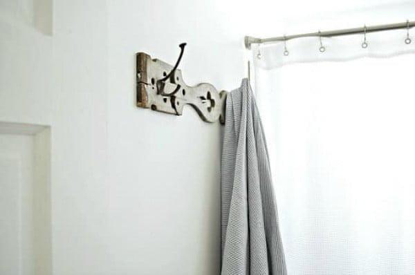 DIY Towel Holder for the Bathroom