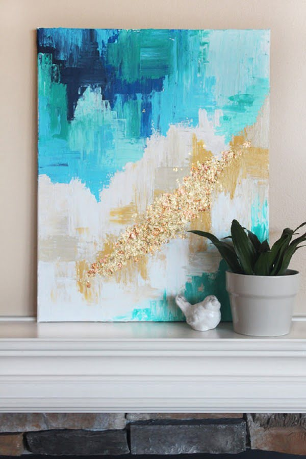 35 Fabulous Wall Art DIYs That You'll Want for Your Home