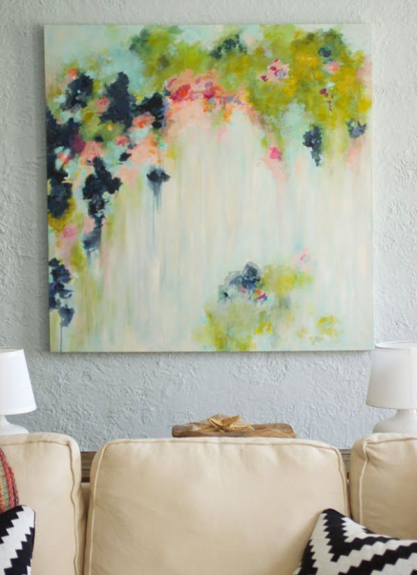 65 Stunningly Easy DIY Abstract Art Ideas Even Beginners Can Make #DIY #walldecor #wallart #craft #homedecor