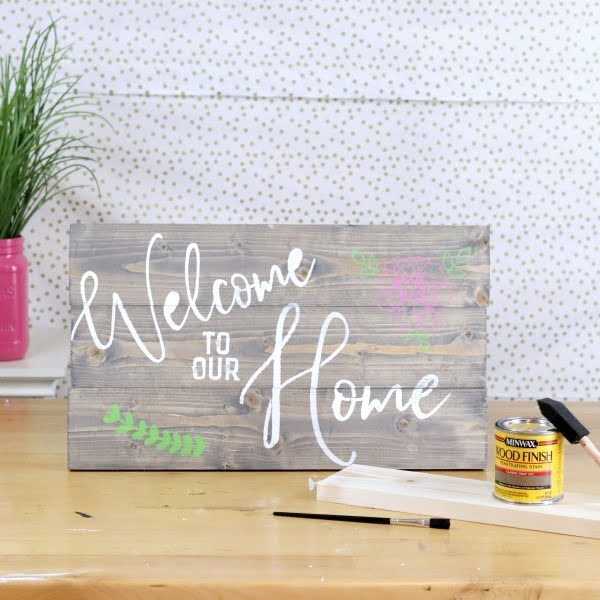 41 Easy DIY Rustic Wood Signs That Will Give Your Home Decor Character #DIY #walldecor #wallart #craft #homedecor