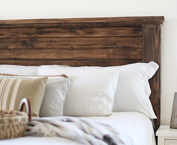 farmhouse style DIY Headboard