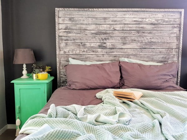 shabby chic look DIY Headboards