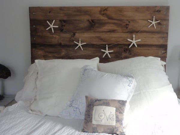 coastal theme DIY Headboards