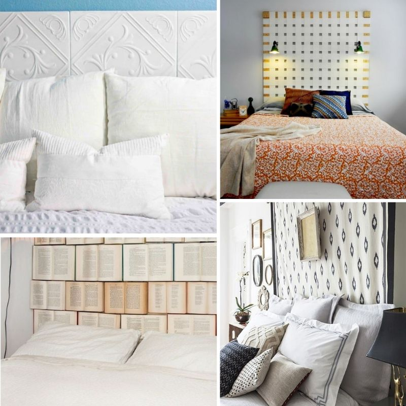 11 Unique DIY Wall Mounted Headboard Ideas You Can't Miss