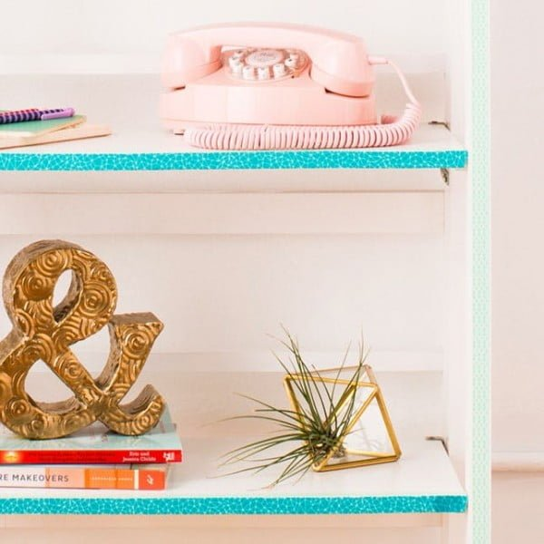 How to Use Washi Tape to Revamp Your Furniture    tape