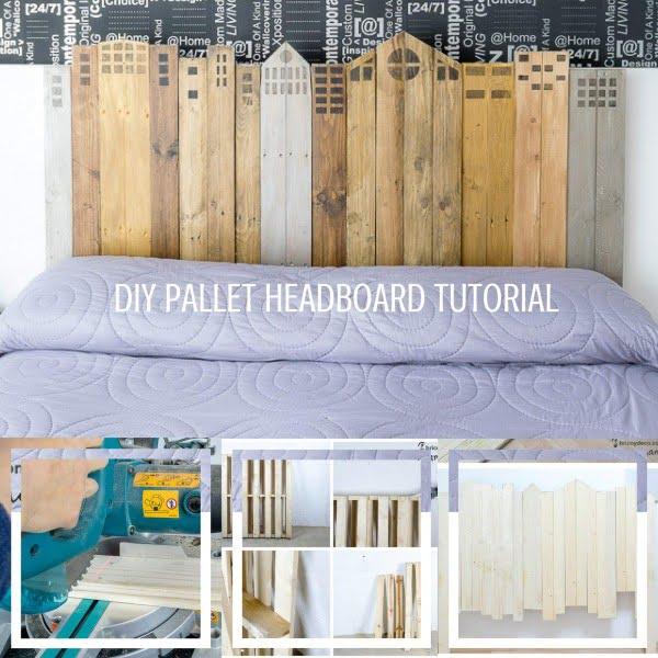 DIY Wood Headboard Tutorial