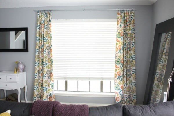 Easy DIY Conduit Curtain Rod – Love & Renovations