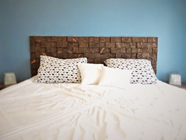 168 Easy and Cheap DIY Headboard Ideas with Plans