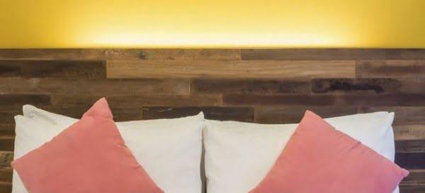 How to Make a Rustic Wood Headboard