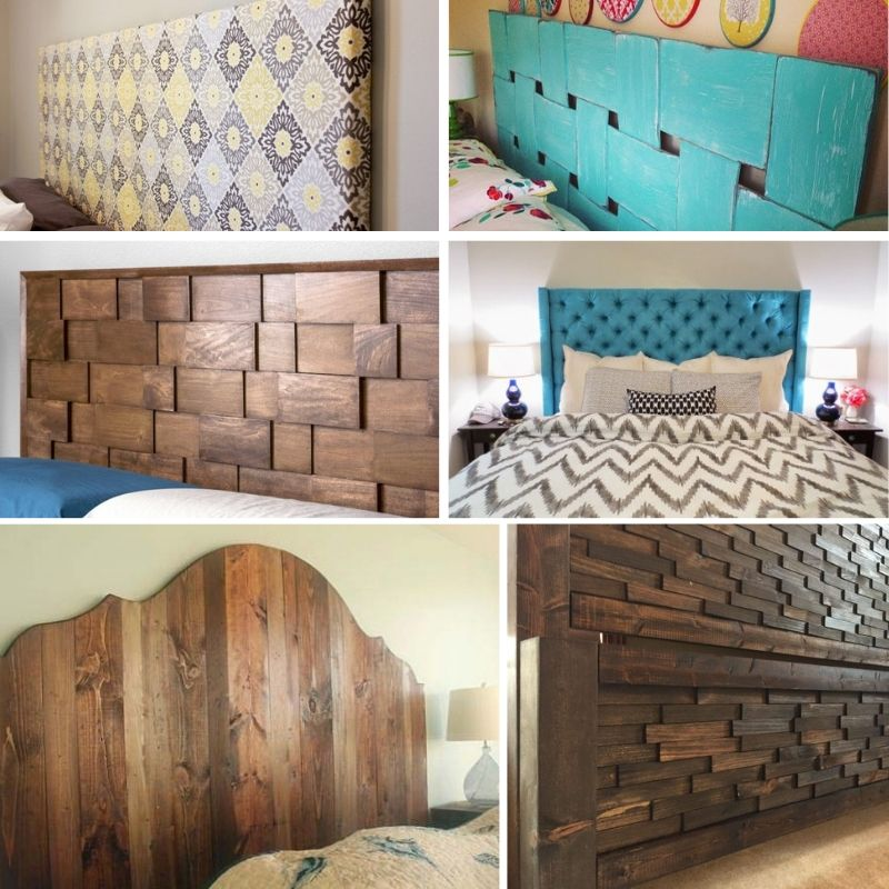 20 Easy Diy King Size Headboard Ideas On A Budget