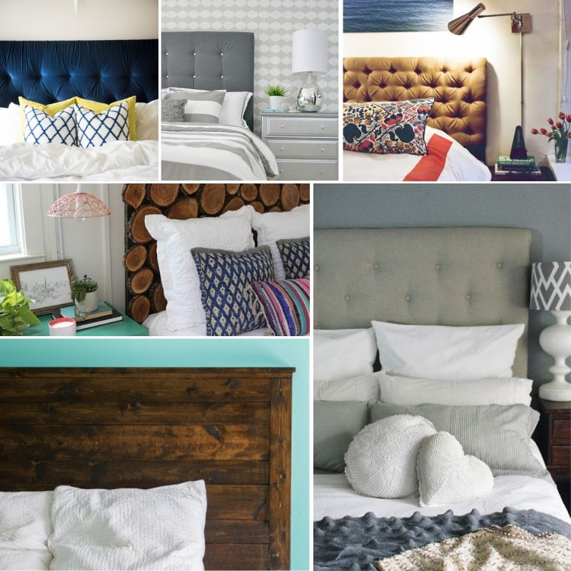 22 Easy DIY Queen Size Headboard Ideas on a Budget