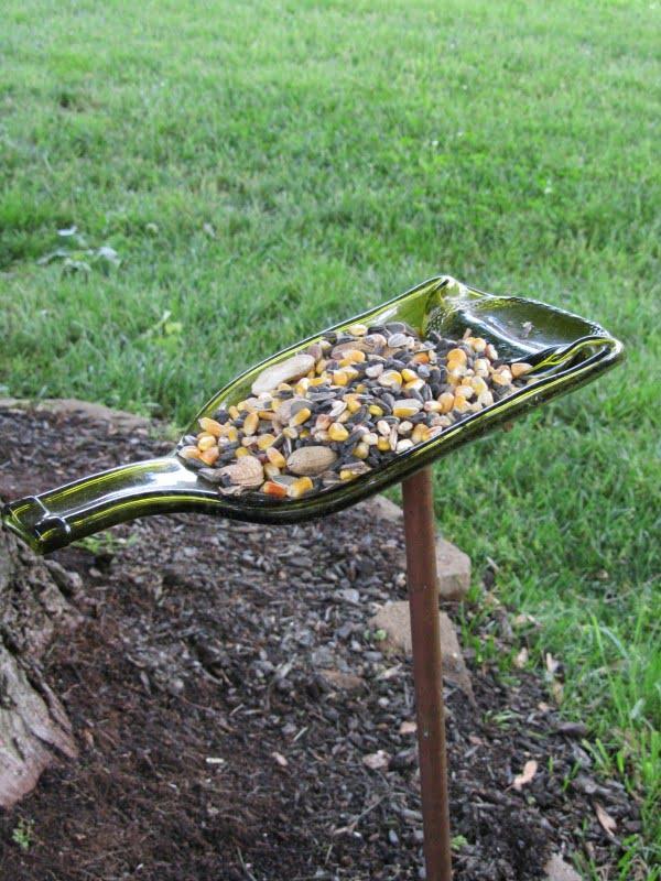 DIY Bottle Squirrel Feeder
