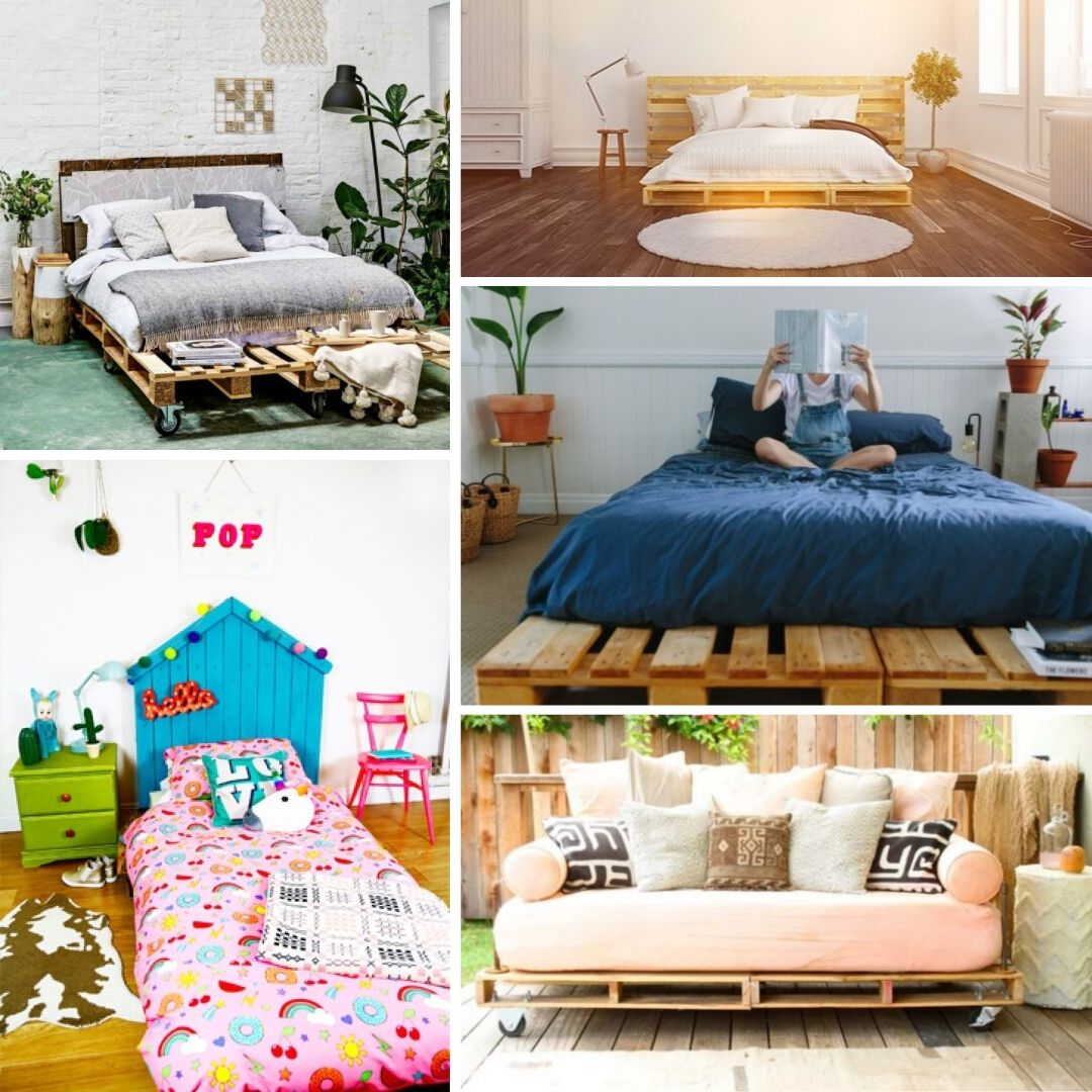 12 Simple DIY Pallet Bed Ideas You Can Build From Scratch
