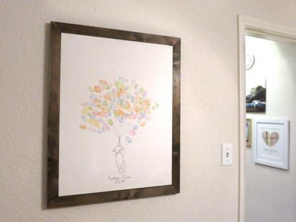DIY wood canvas frame