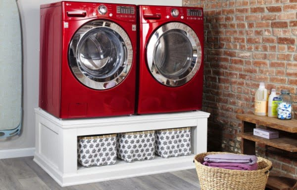 repurposed laundry stand