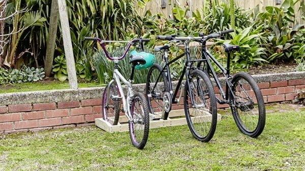 How to make a D.I.Y. bike rack