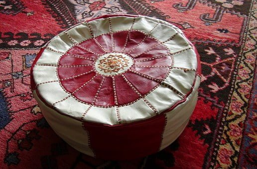 oriental carpet ottoman