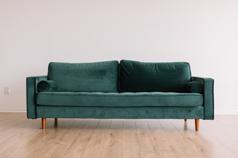refurbished sofa