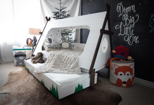 Trundle Kids Bed DIY Project