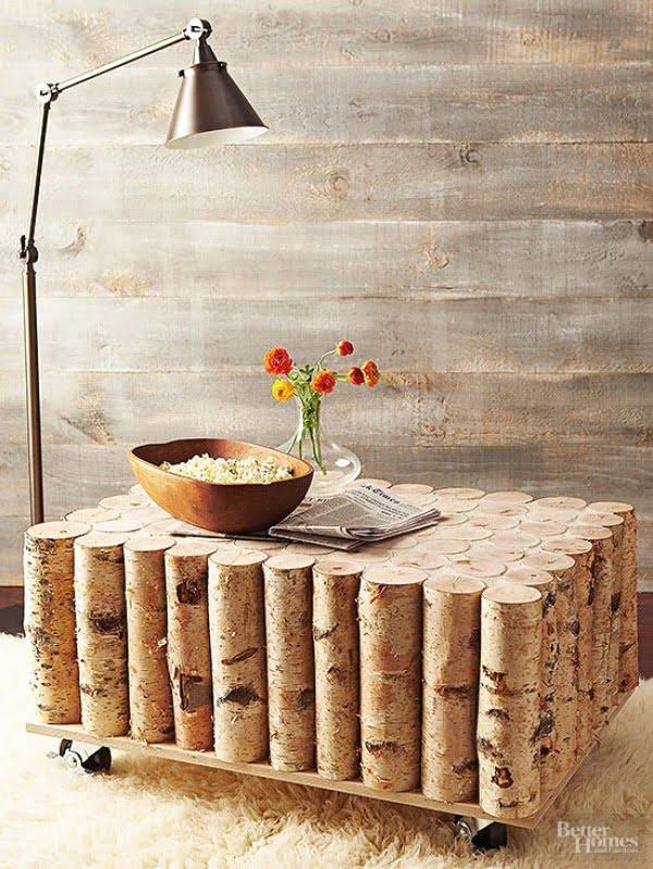 Birch-Log