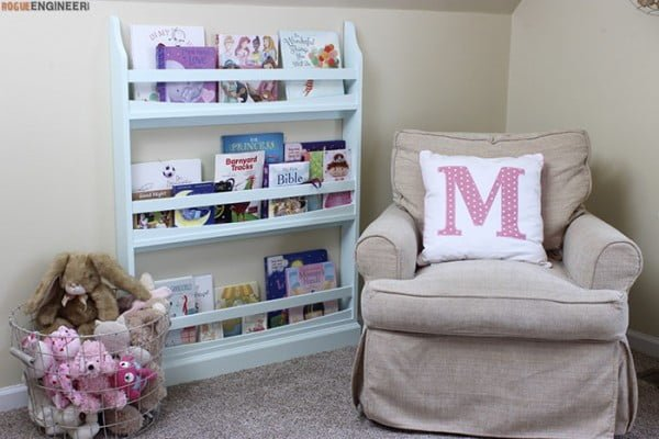 Children's Wall Bookshelf