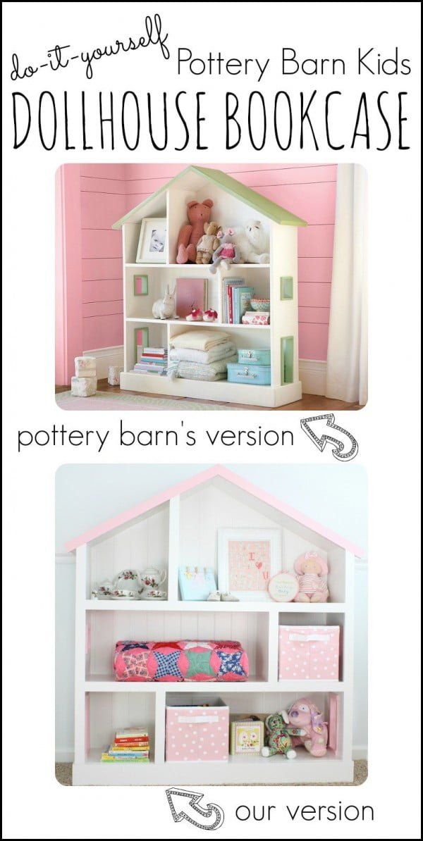 Cutest Dollhouse Bookcase
