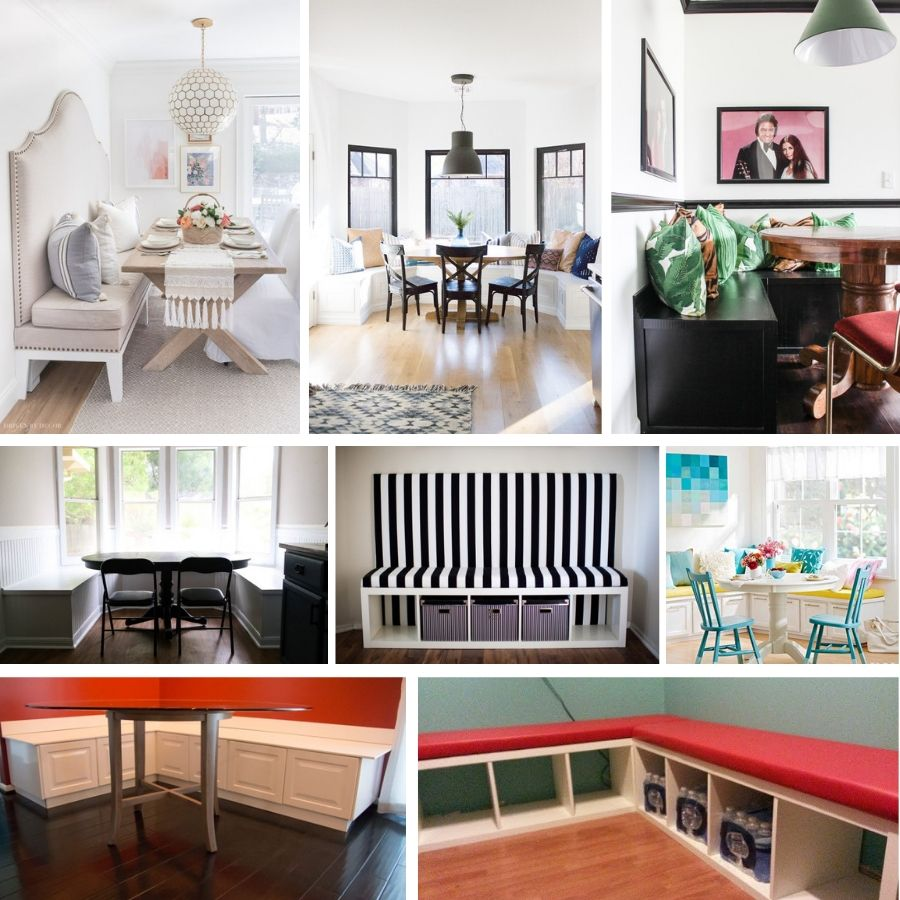18 Great Ways To Build A Diy Banquette With Seating In Your Kitchen