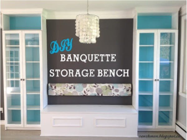 Banquette Storage Bench