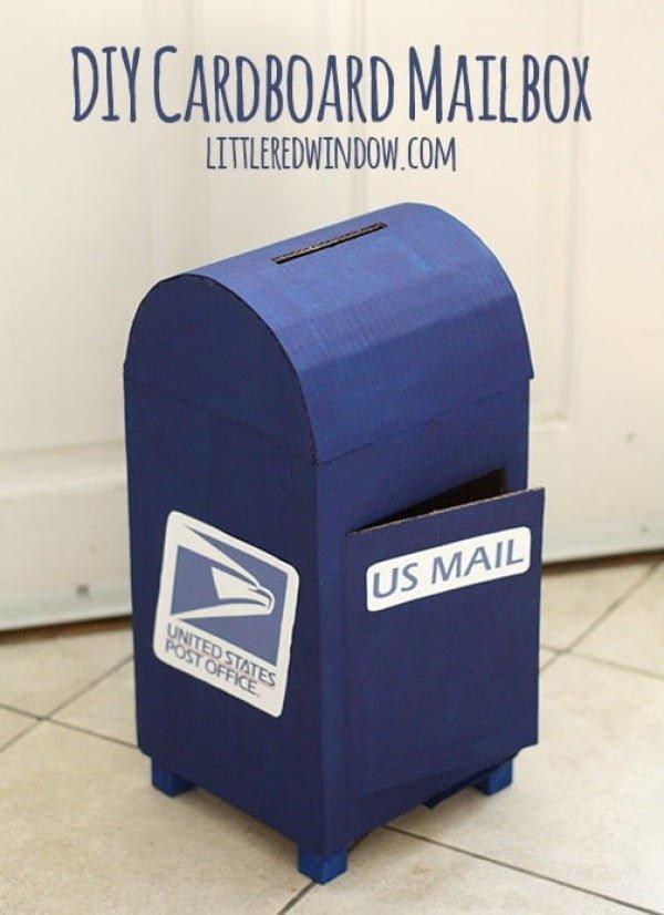 Cardboard Mailbox for Kids