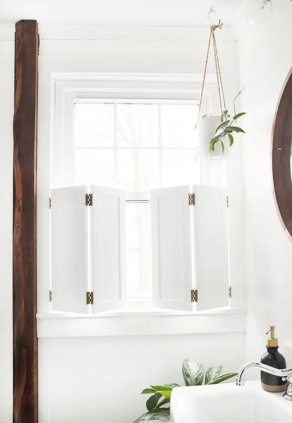 DIY Interior Window Shutters