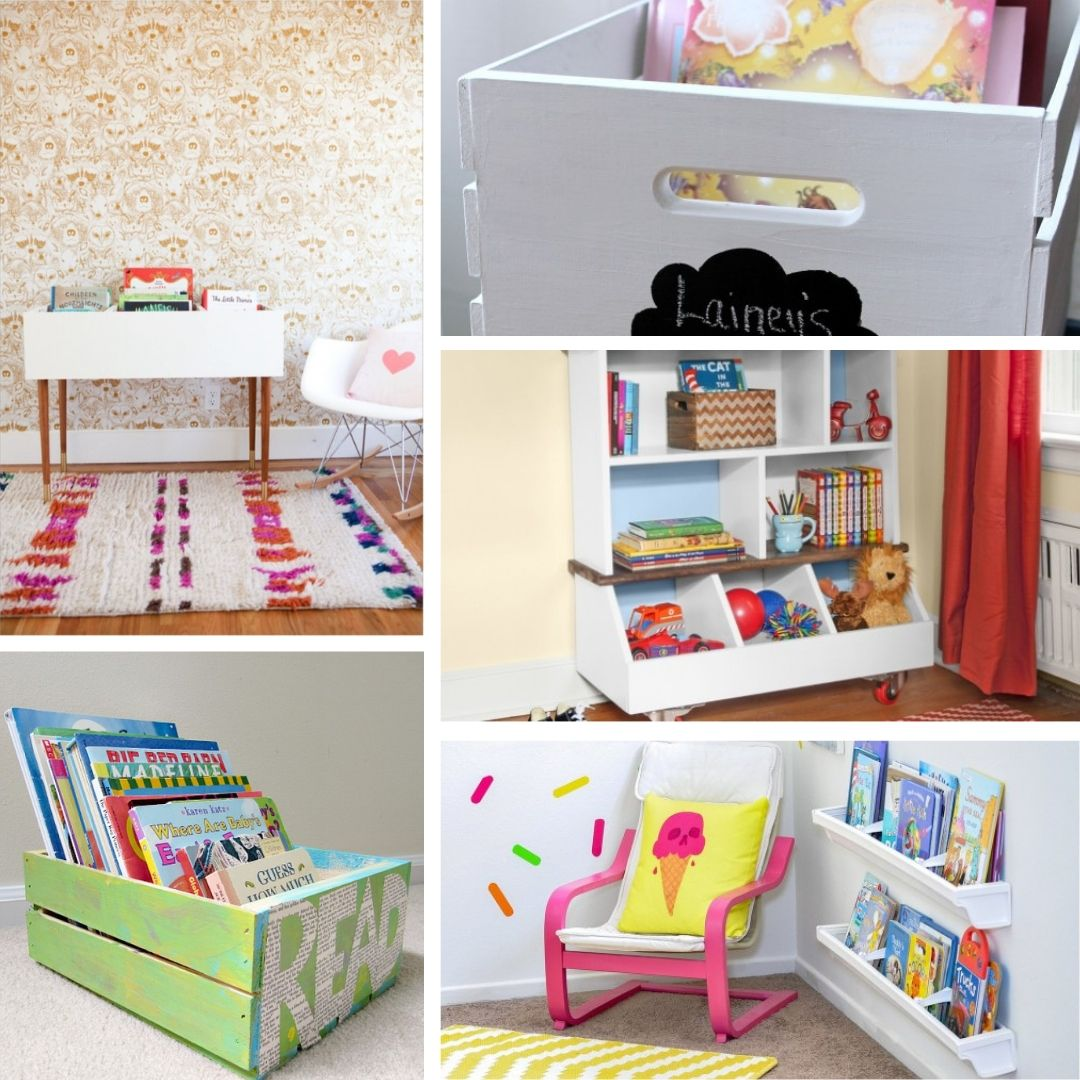 diy kids bookshelf ideas