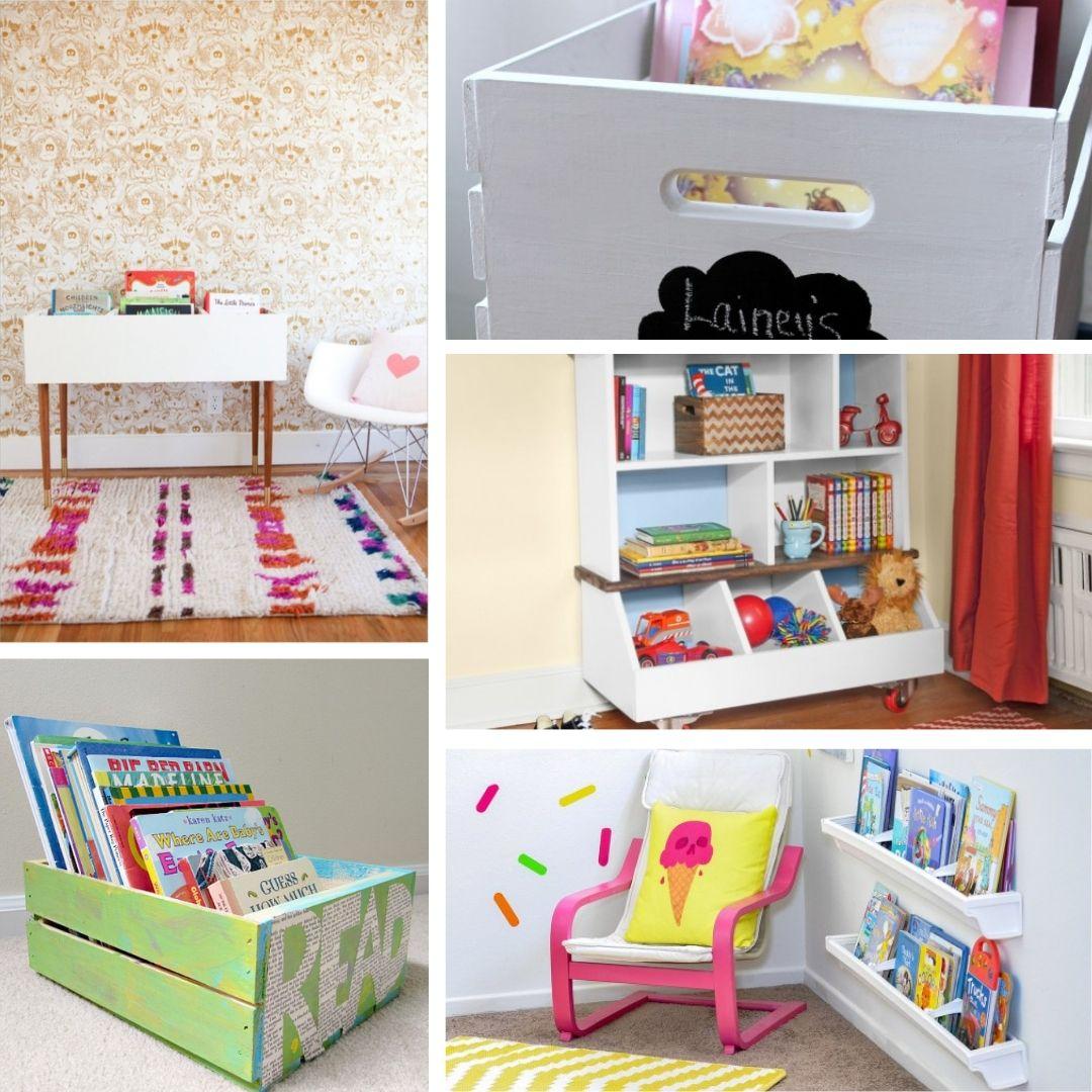 18 Kids Bookshelf Ideas