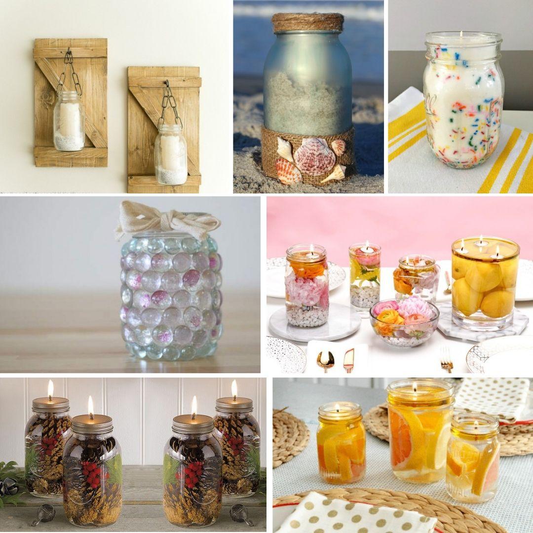 19 Diy Mason Jar Candle Ideas
