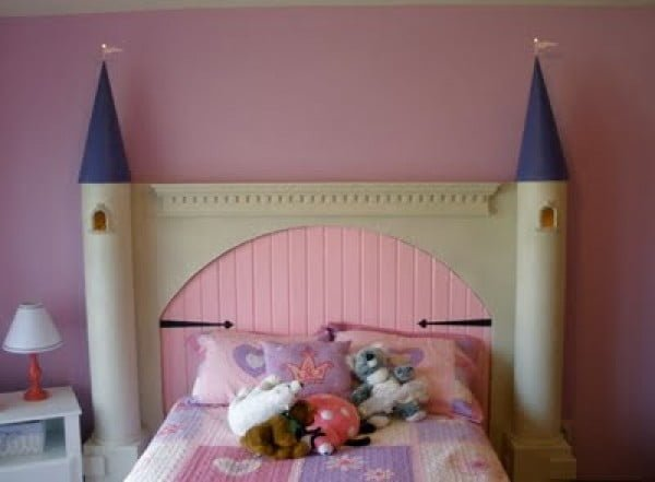 Princess Castle headboard