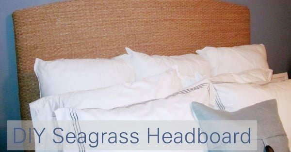 Seagrass headboard