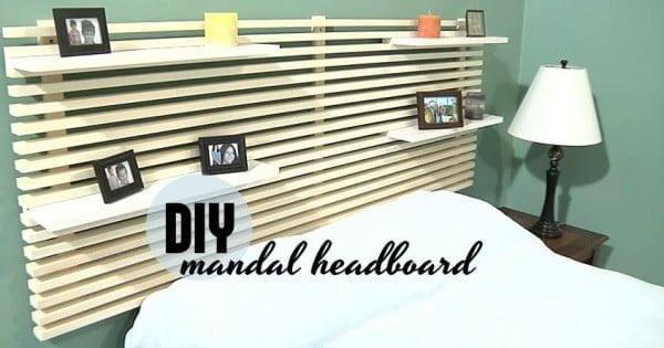 Mandal style headboard