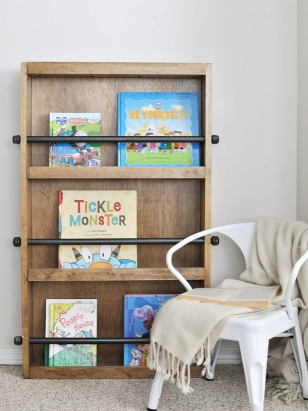 Industrial Kids Bookshelf