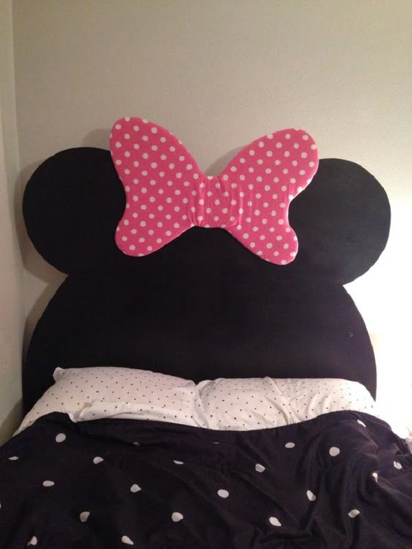 Minnie Mouse headboard