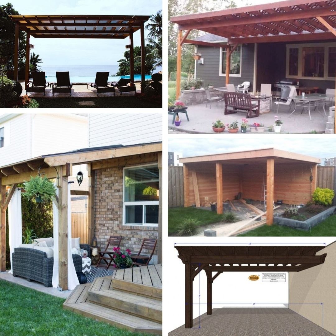 6 Simple DIY Patio Cover Ideas to Make Your Outdoor Spaces...