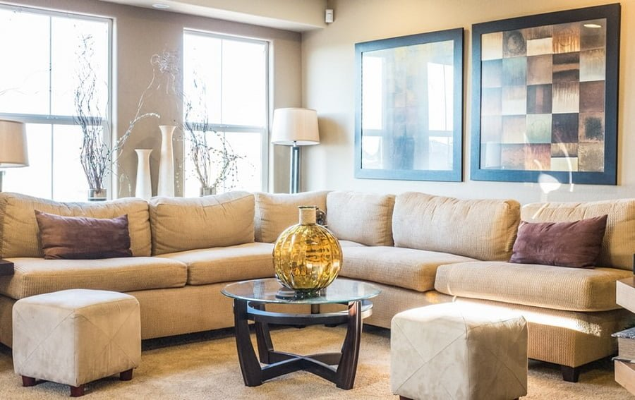 sectional and tables