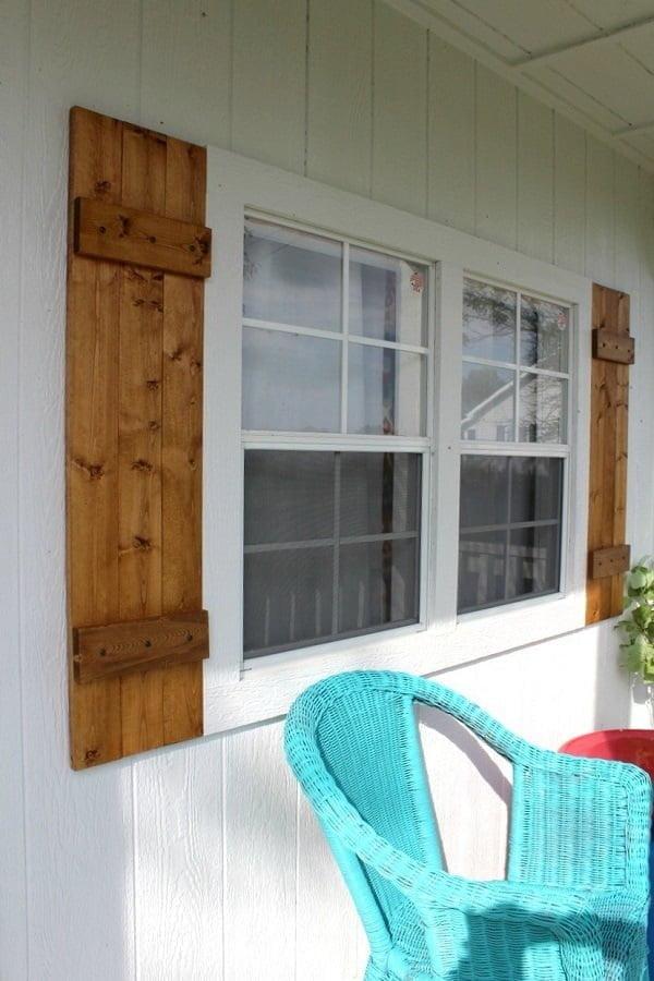 shed shutters