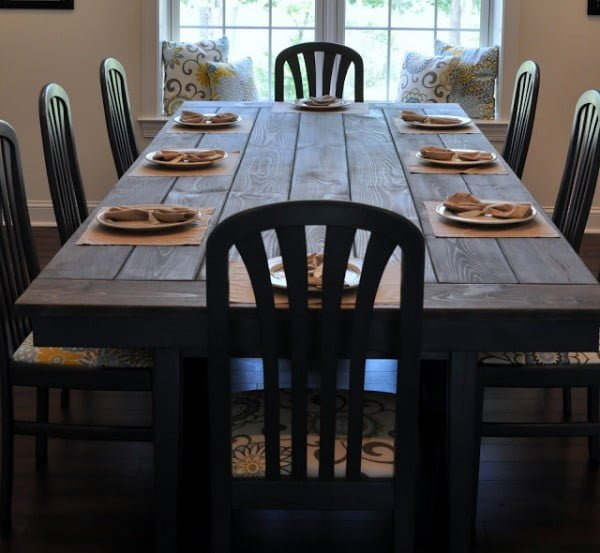 Large size dining table
