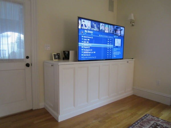 pop up tv stand