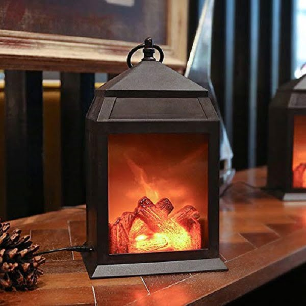 fireplace lamp