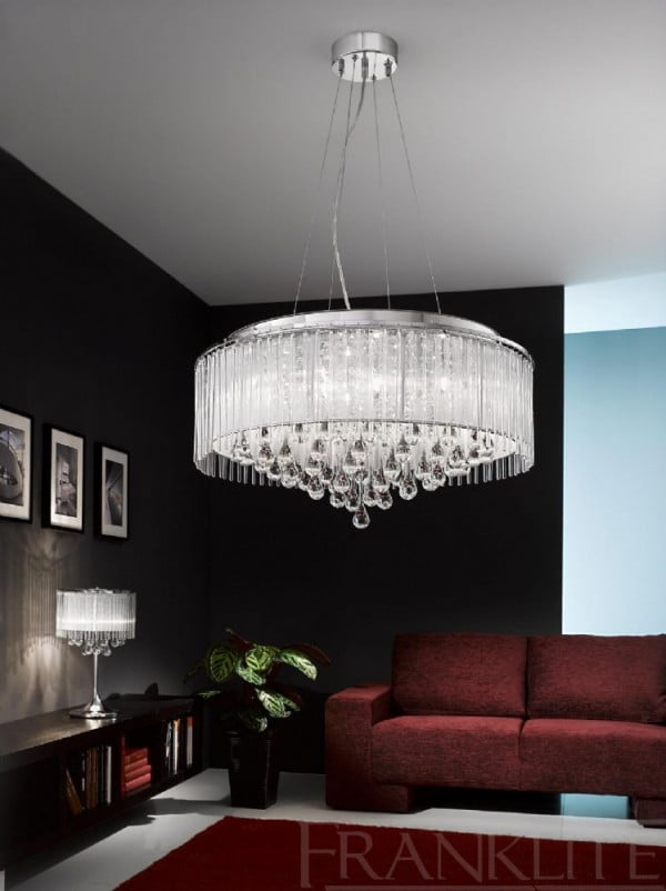 Franklite Spirit 8 Light Ceiling Light Pendant
