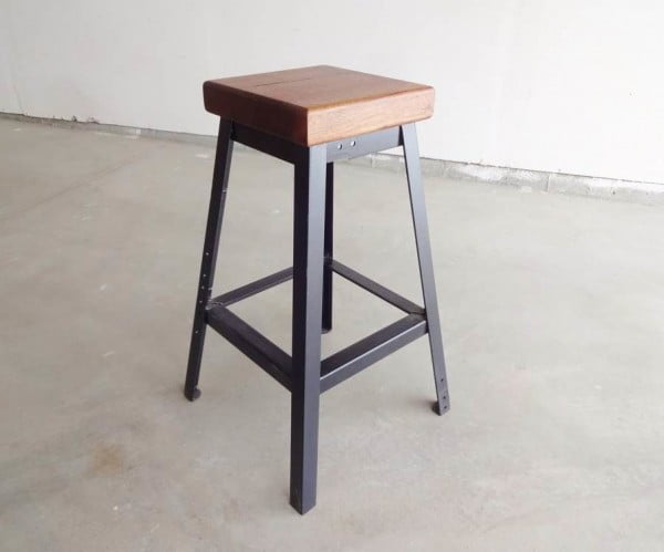Make a Simple Welded Bar Stool welding project