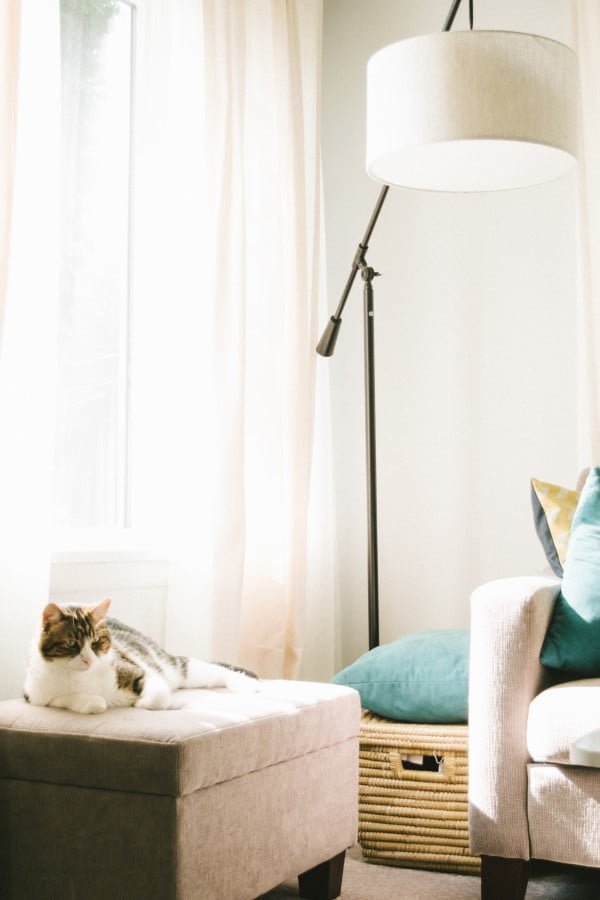 overhead lamp