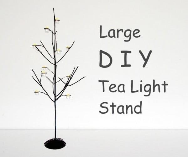 STEEL TREE Tea Light Stand
